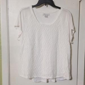 White dress T shirt